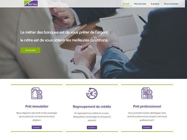 aperçu du site Nordtaux.fr