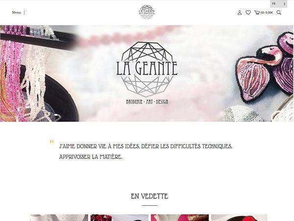 Broderie La Géante